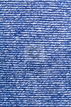 Jeans Texture stock photo, A close-up of the texture of blue jeans fabric by Petr Koudelka