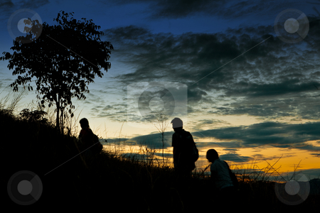 Sunrise stock photo, Early morning sunrise at Broga Hill by Mohamad Shahrol Azmi Bin Osman