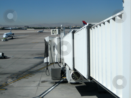 Airplanes stock photo, Stock pictures of airplanes and airport operations by Albert Lozano