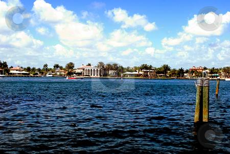 Fort Lauderdale Inter Coastal waterway stock photo, Fort lauderdale inter coastal waterway by Robert Cabrera