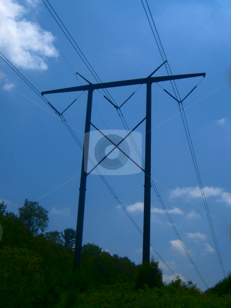 Electrical  stock photo, Pictures related to electrical energy distribution by Albert Lozano