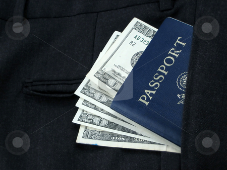 Business travel stock photo, Necessities for the business traveler by Albert Lozano