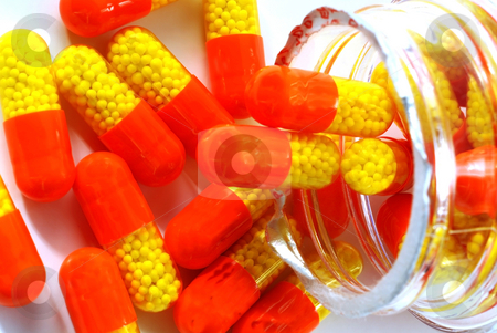 Medicines and drugs stock photo, Stock pictures of drugs and pharmaceutical products for health reasons by Albert Lozano