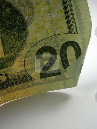 Money stock photo, Pictures of twenty dollar US bills by Albert Lozano