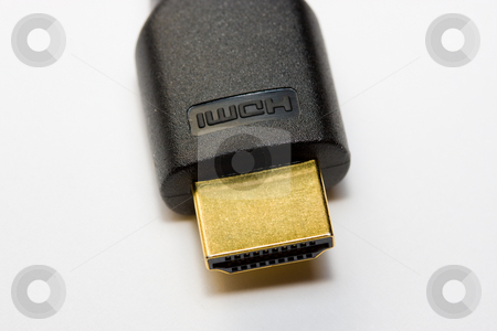 HDMI cable stock photo, High definition cable by Luca Bertolli