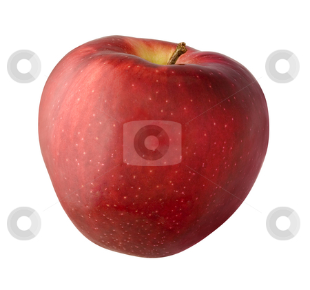 Apple stock photo, Apple isolated on a white background by Danny Smythe