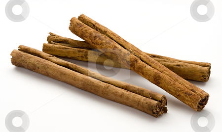 Cinnamon Sticks stock photo, Cinnamon Sticks isolated on a white background by Danny Smythe