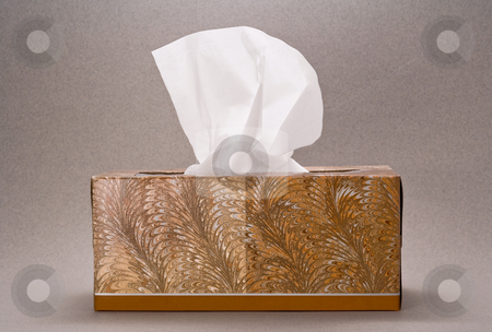 Tissue stock photo, Tissue isolated on a nuetral background by Danny Smythe