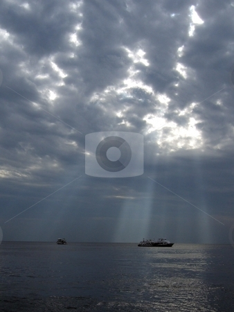 Dramatic sea stock photo,  by Cigdem Cooper