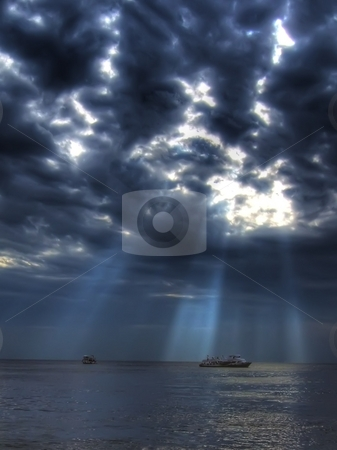 Dramatical sea stock photo,  by Cigdem Cooper