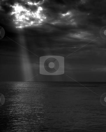 Dramatical sea stock photo,  by Cigdem Cooper