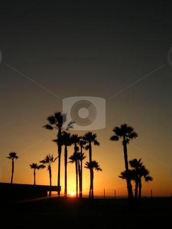 Newport Sunset stock photo,  by Jo Herman