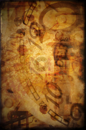 Texture - Steampunk stock photo, Texture layer. by Angelique Brunas