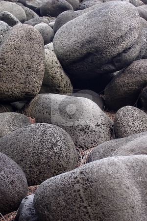 Rocks stock photo, Rocks at Waipi?? by Peter Van veldhoven
