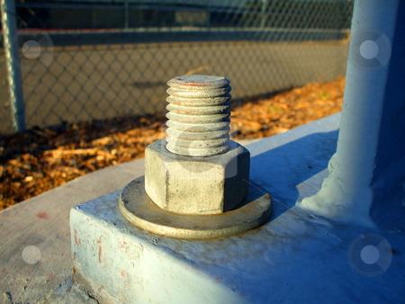 Concrete Bolt stock photo,  by Michael Felix