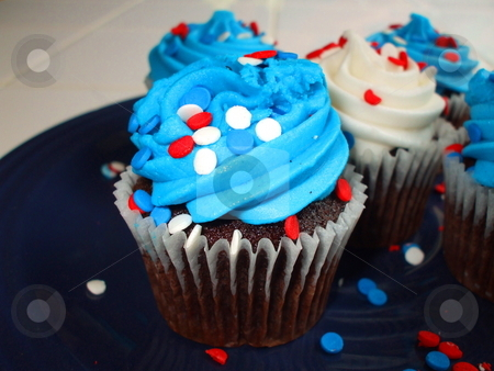 Cupcakes stock photo,  by Michael Felix