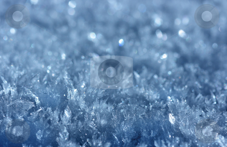 Ice crystal background stock photo, Macro shot of icy crystals with extremely shallow DOF by Natalia Macheda