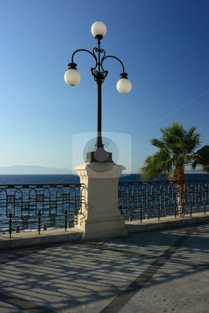 Architecture detail in Art Nouveau style stock photo, Architecture detail in Art Nouveau style in Reggio Calabria, Southern Italy by Natalia Macheda