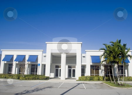 Small office building stock photo, Small office building in an industrial park by Robert Cabrera