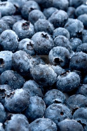 Vertical closeup of fresh tasty sweet blue berries stock photo, Vertical closeup of fresh tasty sweet blue berries by Vince Clements