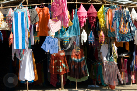 Clothing store in india stock photo, Clothing store in india by Andrey Butenko