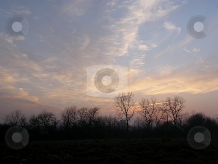 Beautiful Sky at Sunset  stock photo, Beautiful Sky at Sunset in Mechanicsburg Ohio (outside of Columbus) by Dazz Lee Photography