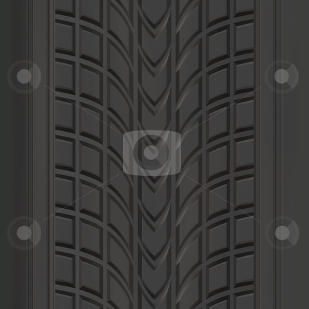 Tire Tread Pattern stock photo, A car or truck tire tread texture that tiles seamlessly. by Todd Arena