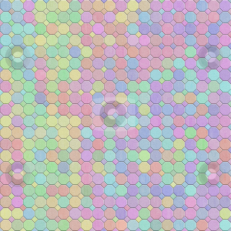 Pastel structure pattern stock photo, Texture of mottled square shapes in pastel colors by Wino Evertz