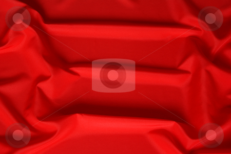 Red background stock photo, Arranged  red and silky cloth as background by Jolanta Dabrowska