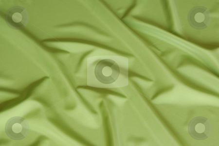 Green background stock photo, Arranged  green and silky cloth as background by Jolanta Dabrowska