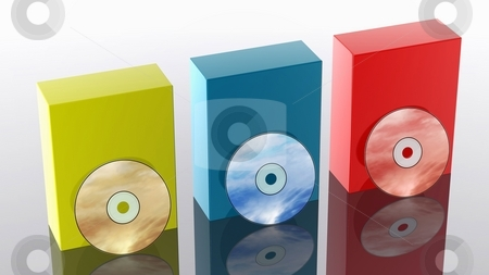 CD / DVD stock photo,  by Rodolfo Clix