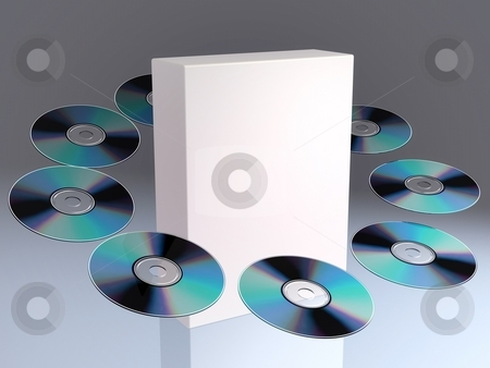 CD / DVD stock photo,  by Rodolfo Clix