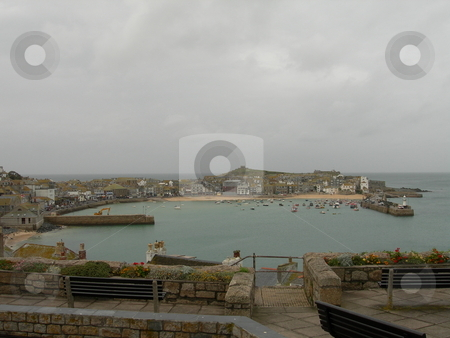 Mevagissey Harbour  stock photo, A view of the Mevagissey Harbour by Colin Elves