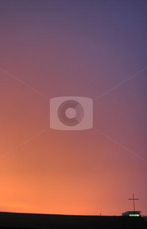 Sunset stock photo, Lighting effects of a sunset. by Edwin Fong