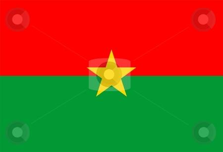 Flag Of burkina faso stock photo, 2D illustration of the flag of burkina faso by Tudor Antonel adrian