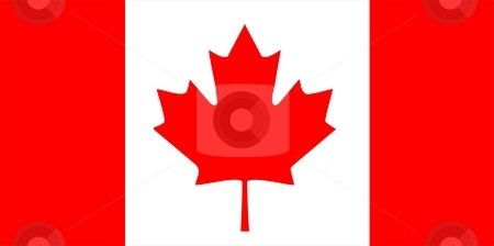 Canada Flag stock photo, 2D illustration of the flag of Canada vector by Tudor Antonel adrian