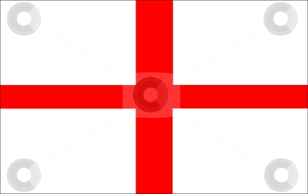 Flag Of england stock photo, 2D illustration of the flag of england by Tudor Antonel adrian