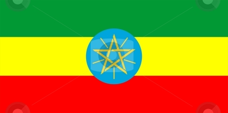 Ethiopia Flag stock photo, 2D illustration of the flag of Ethiopia vector by Tudor Antonel adrian