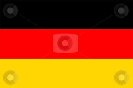 Flag Of germany stock photo, 2D illustration of the flag of germany by Tudor Antonel adrian