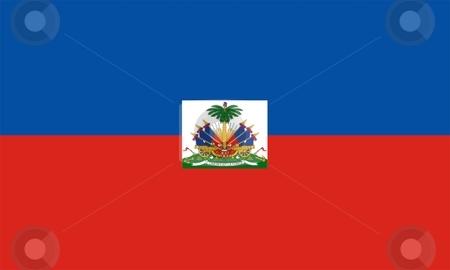 Haiti Flag stock photo, 2D illustration of Haiti flag color vector by Tudor Antonel adrian