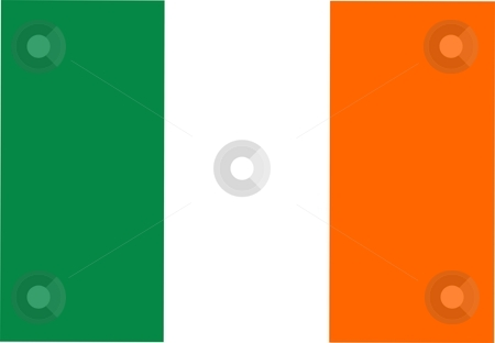 Flag Of ireland stock photo, 2D illustration of the flag of ireland by Tudor Antonel adrian