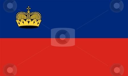 Flag Of Liechtenstein stock photo, 2D illustration of the flag of Liechtenstein by Tudor Antonel adrian