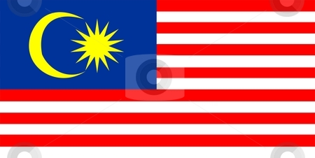 Flag Of Malaysia stock photo, 2D illustration of the flag of Malaysia by Tudor Antonel adrian
