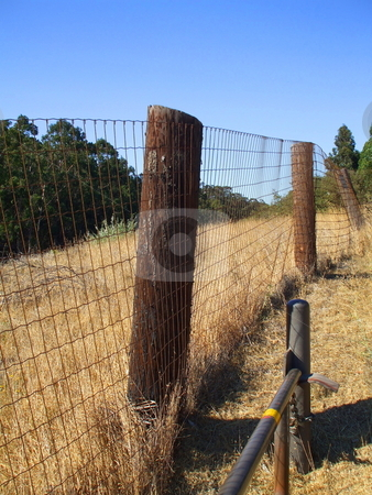 Fence stock photo,  by Michael Felix