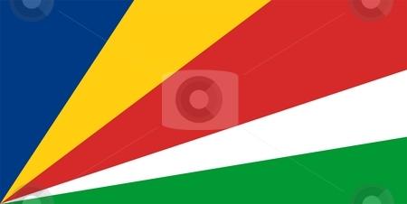 Flag Of Seychelles  stock photo, 2D illustration of the flag of Seychelles by Tudor Antonel adrian