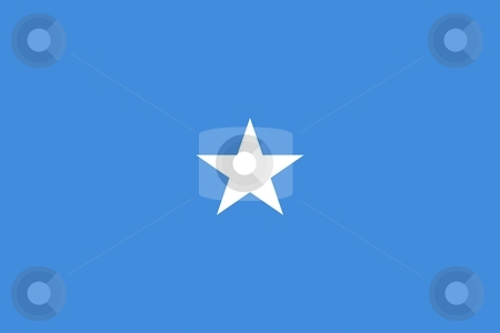 Flag Of Somalia stock photo, 2D illustration of the flag of Somalia by Tudor Antonel adrian