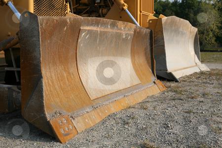 Bulldozers! #2 stock photo, Two Bulldozers, up close by Gregg Cerenzio
