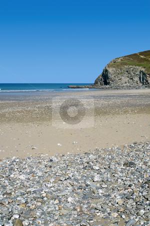 Porthtowan beach, Cornwall UK. stock photo, Porthtowan beach, Cornwall UK. by Stephen Rees