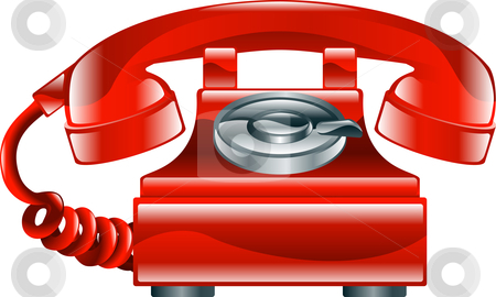 Fashioned Telephone on Old Fashioned Phone Icon Vector Illustration   Download Old Fashioned