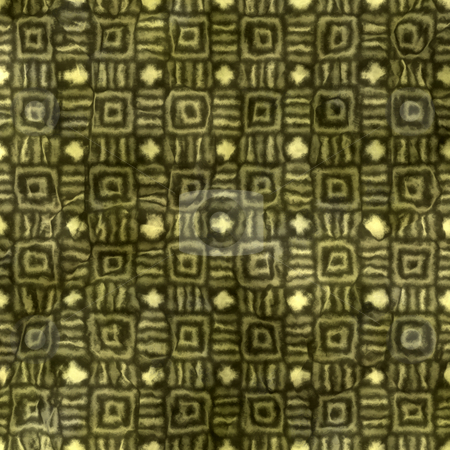 Grunge native pattern stock photo, Seamless texture of stripes and squares in grunge native style by Wino Evertz